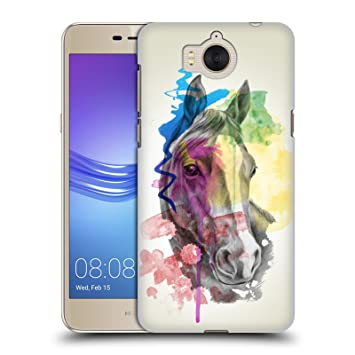 coque huawei y6 2017 cheval