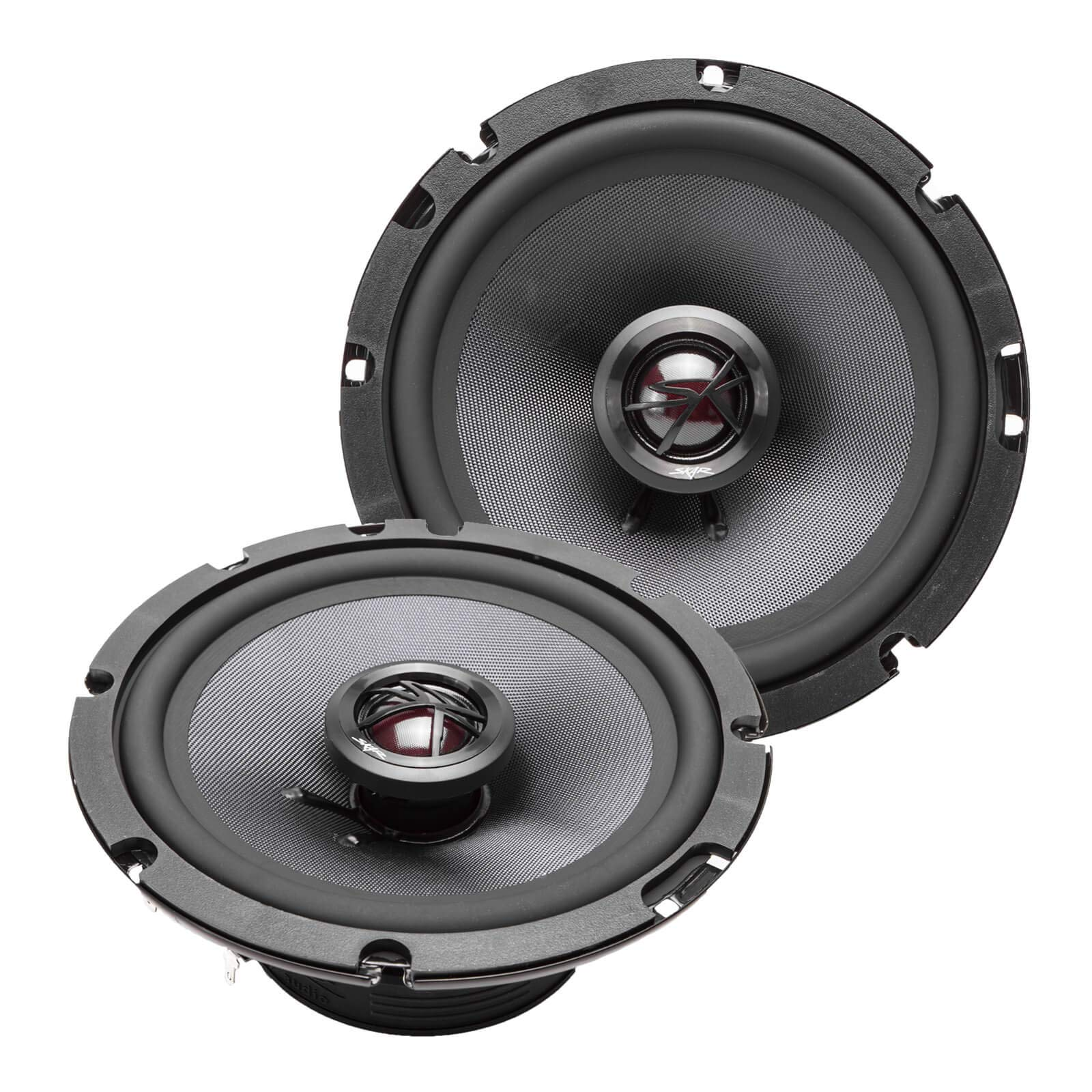 Skar Audio TX65 6.5'' 200 Watt 2-Way Elite Coaxial Car Speakers, Pair