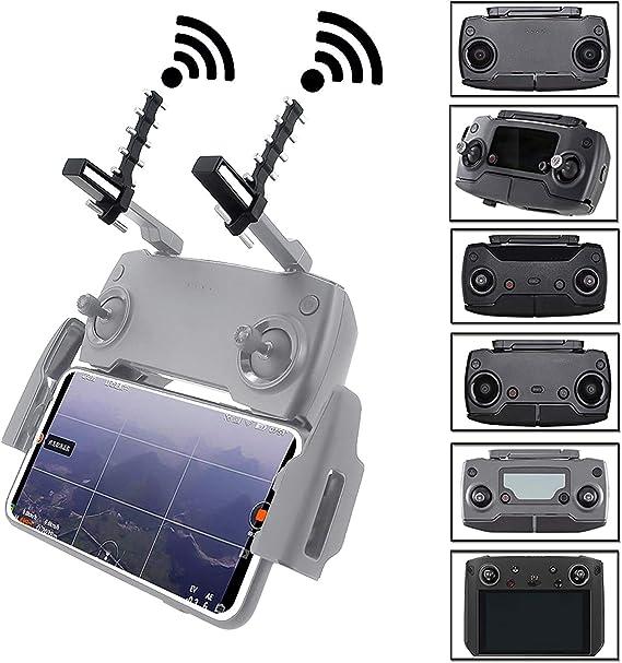 STARTRC Extensor Antena Refuerzo de Señal para dji Spark / Mavic Air / Mavic 2 / Mavic Mini Controller , Frecuencia de Señal: 5.8 GHz (Negro)