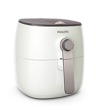 Philips Viva Collection HD9621/20 - Freidora (Low fat fryer, 0,8 kg, Solo, Gris, Blanco, Giratorio, Independiente): Amazon.es: Hogar
