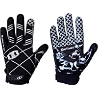 Seibertron Pro 3.0 Elite Ultra-Stick Sports Receiver Glove American Football Gloves Youth and Adult/Guantes de Fútbol Americano para Juventud y Adulto