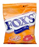 Nestle Fox'S Crystal Clear Fruits Flavored Candy Pouch, 90g