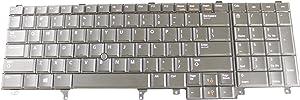 Dell OEM 0X257 Black Keyboard Precision M4600 Latitude E6530