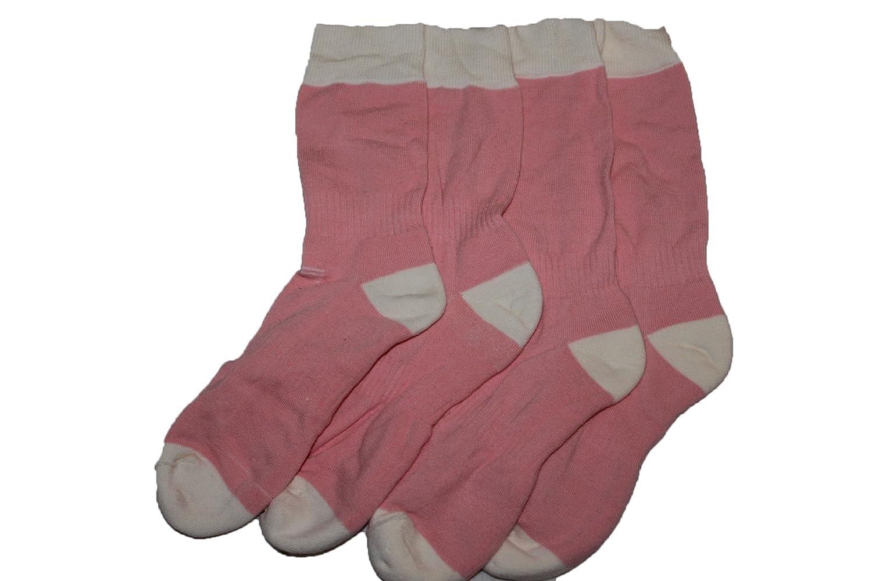 4 Pairs girls 7-10yrs thermal socks.pink
