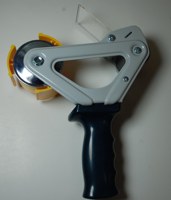 2 Deluxe Pistol Grip - EP-675-2 Tape Dispenser with Flexible Wiper Plate 1 Dispenser