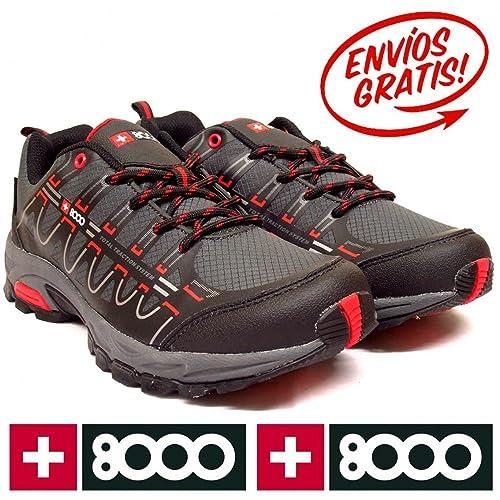 Zapatillas +8000 TORSU Gris Oscuro - Color - Gris, Talla - 46: Amazon.es: Zapatos y complementos