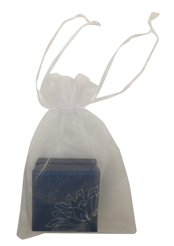 SUNGULF 100pcs Organza Pouch Bag Drawstring 4x6