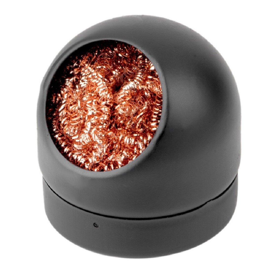 L/ötkolbenspitze Reiniger Ball Halter mit Stahldraht Schwamm Schwei/ßen L/öten Zubeh/ör