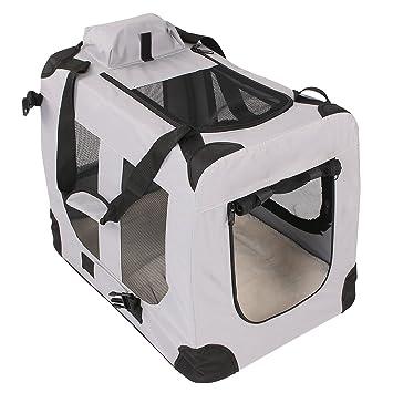 Caja de transporte plegable Incluye acolchado Perros Box Auto Gatos en diferentes colores y Tamaños: Amazon.es: Productos para mascotas