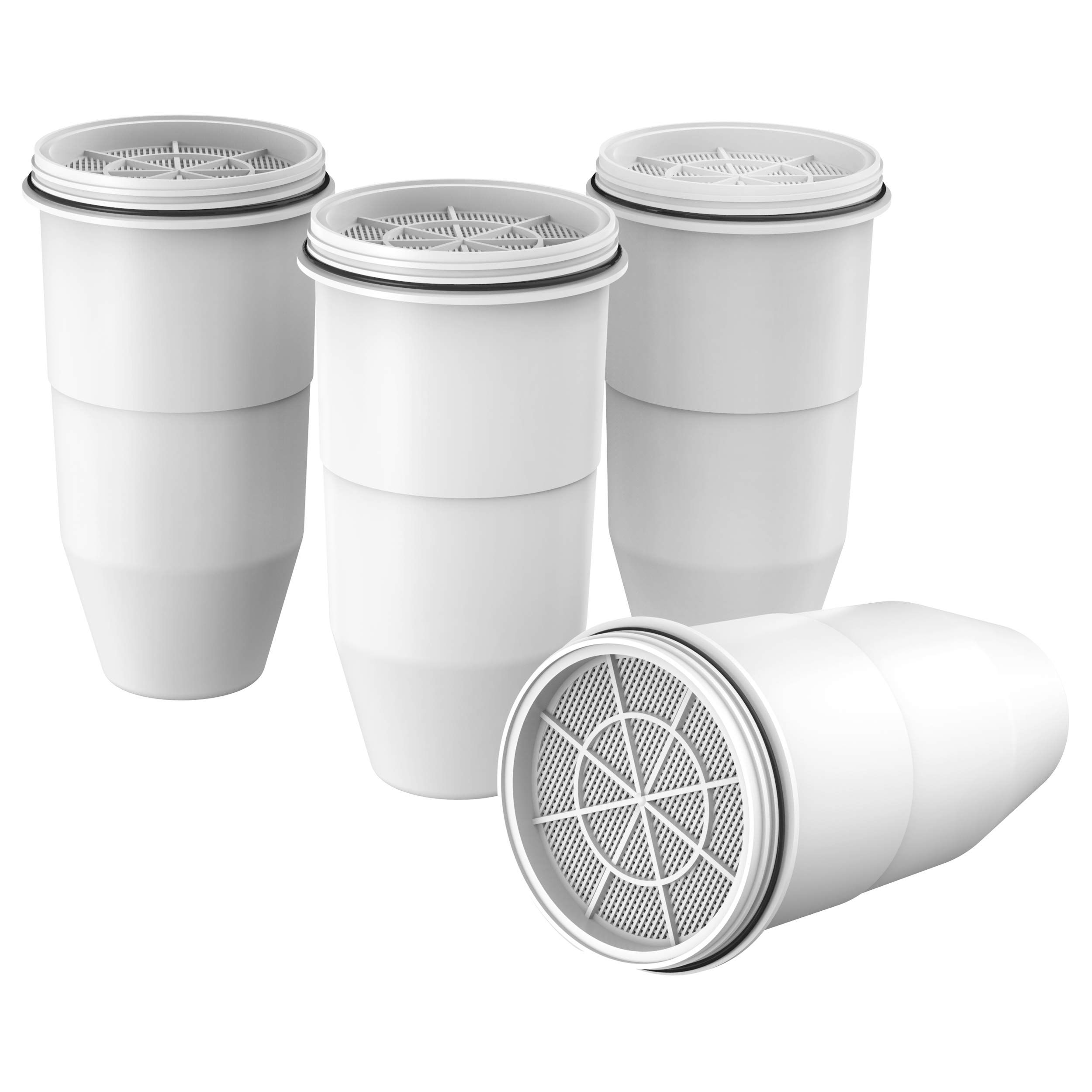 Pack of 2 Compatible with ZeroWater Pitchers and Dispensers Filterlogic ZR-017 6-stage Pitcher Water Filter