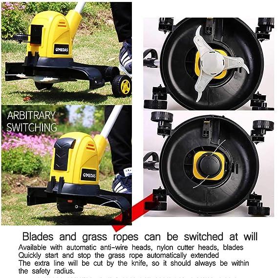 ZM-Lawn mower CortacéSped EléCtrico 400-600w LíNea AutomáTica ...