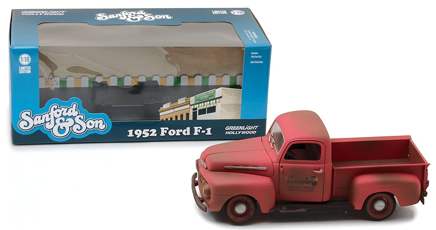Greenlight Die Cast Vehicle Toys Games 1951 52 Ford Pick Up