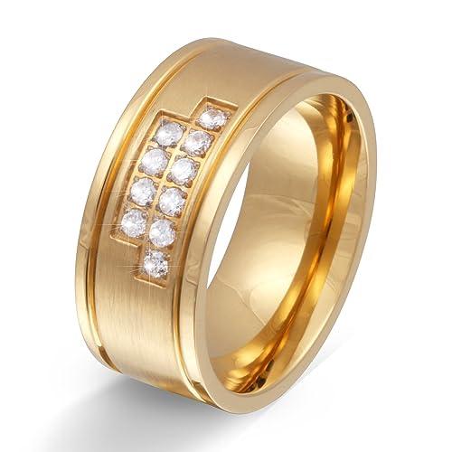 Un anillo de bodas, Anillo de compromiso, anillo de matrimonio con grabado