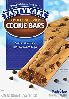 product image for Tastykake Soft Cookie Bars Chocolate Chip - 6 CT