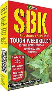 Vitax SBK - Herbicida Resistente para Eliminar la maleza: Amazon.es: Jardín