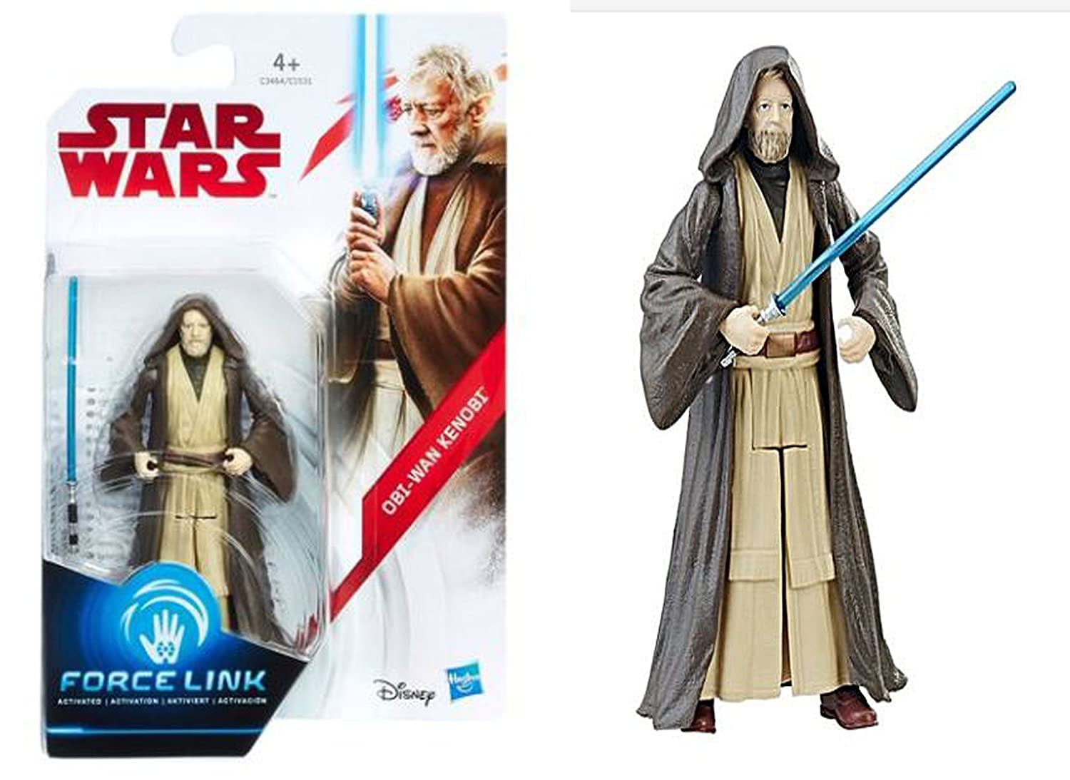 Meuble Salle De Bain Obi ~ obi wan kenobi star wars force link action figure amazon fr jeux