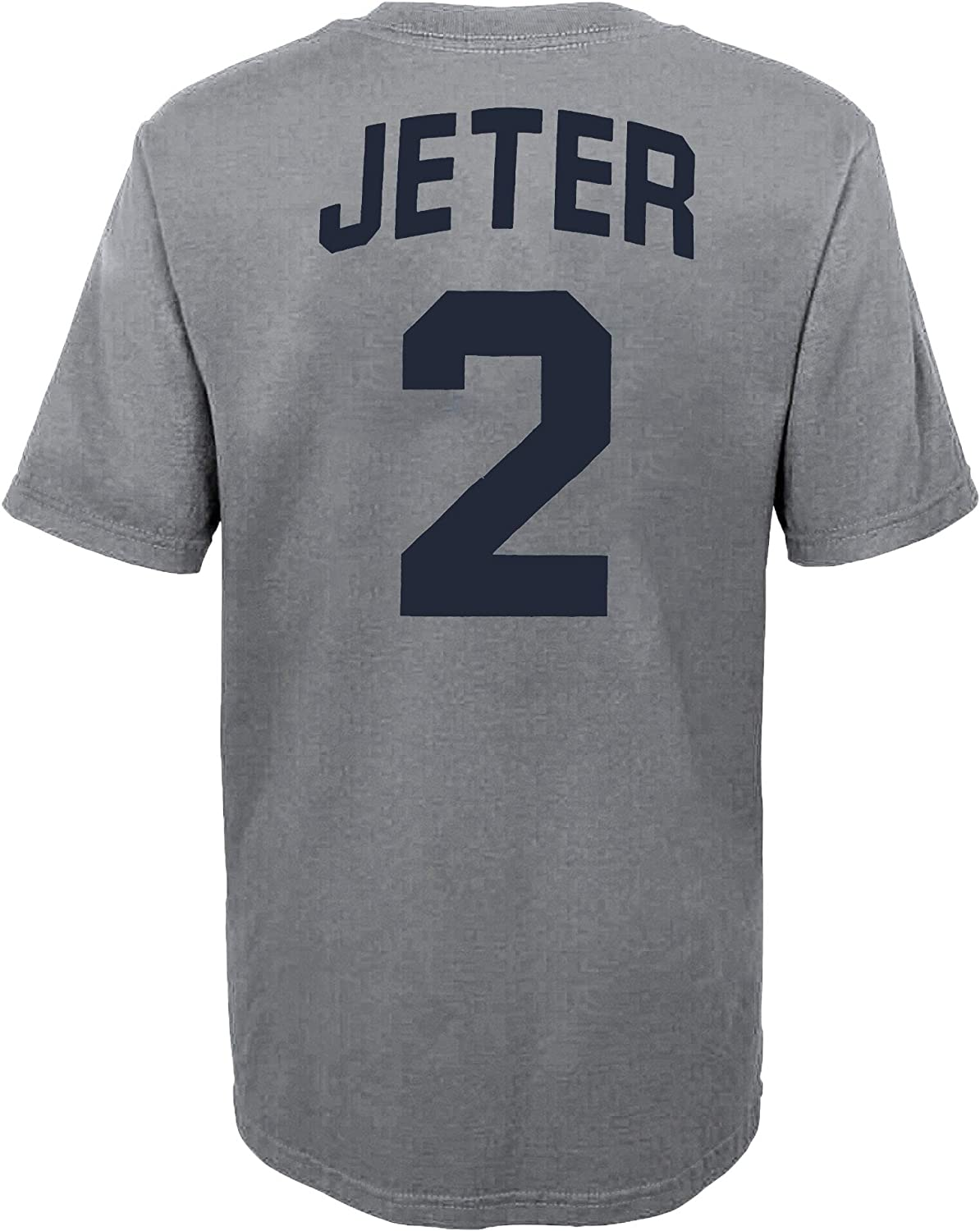 Outerstuff MLB Youth 8-20 Team Color Alternate Primary Logo Name and Number Player T-Shirt