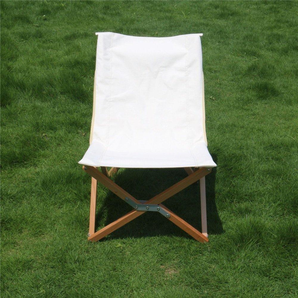 Aszhdfihas Bequemer Freizeit-faltender Camping-Stuhl im Freien
