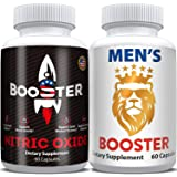 Horny Goat Weed Extract & Nitric Oxide Pills- Male Test Booster Supplements Complex, Natural Powerful Performance…