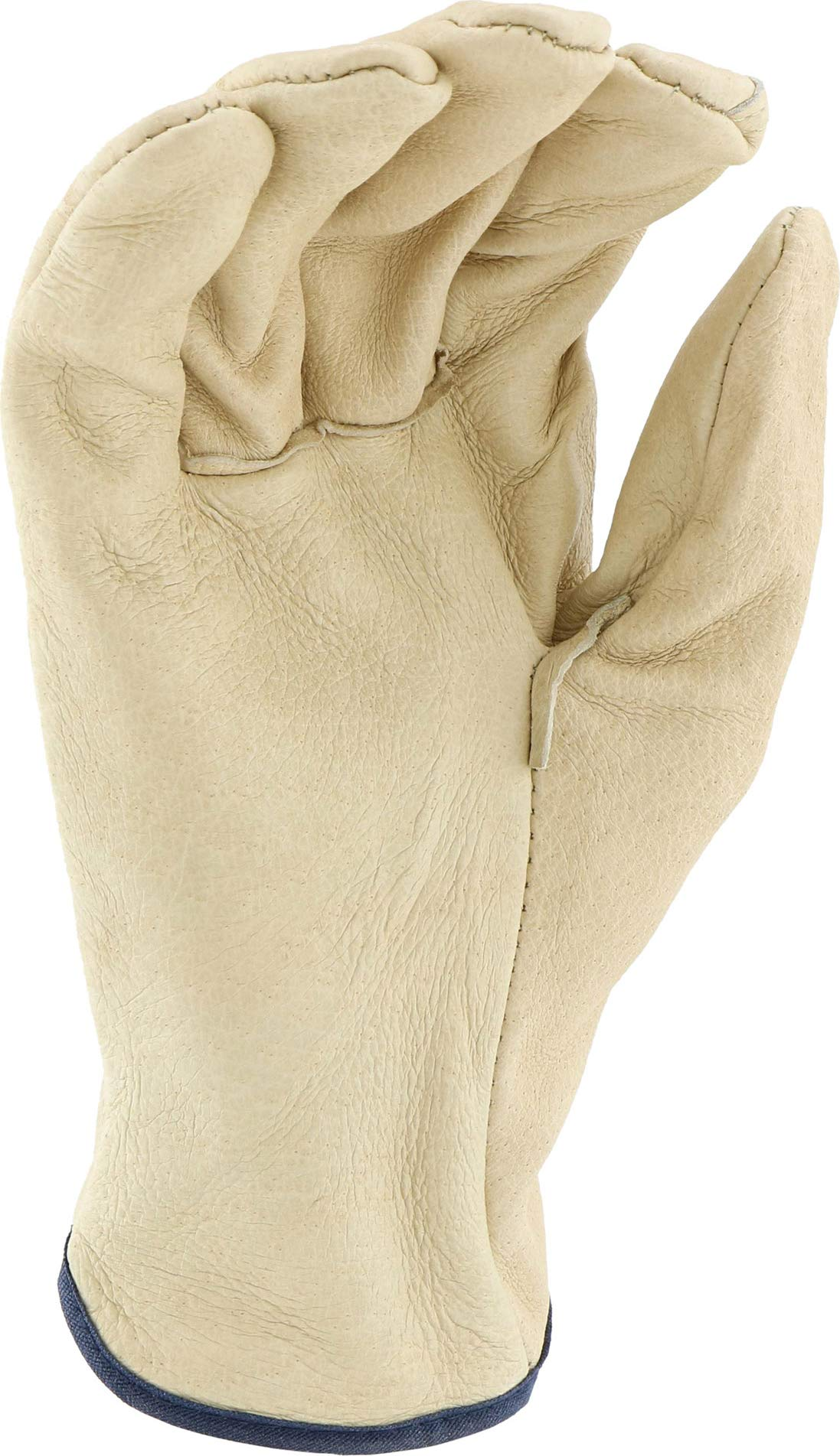 West Chester 994 Select Grain Pigskin Leather Driver Work Gloves: Straight Thumb, Large, 12 Pairs by West Chester (Image #5)