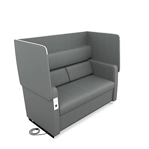 OFM Core Collection Morph Series Soft Seating Sofa, in Slate 2202-SLT