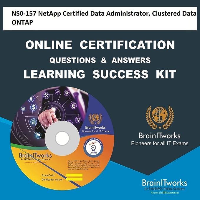 Ns0 157 Netapp Certified Data Administrator Clustered Data Ontap