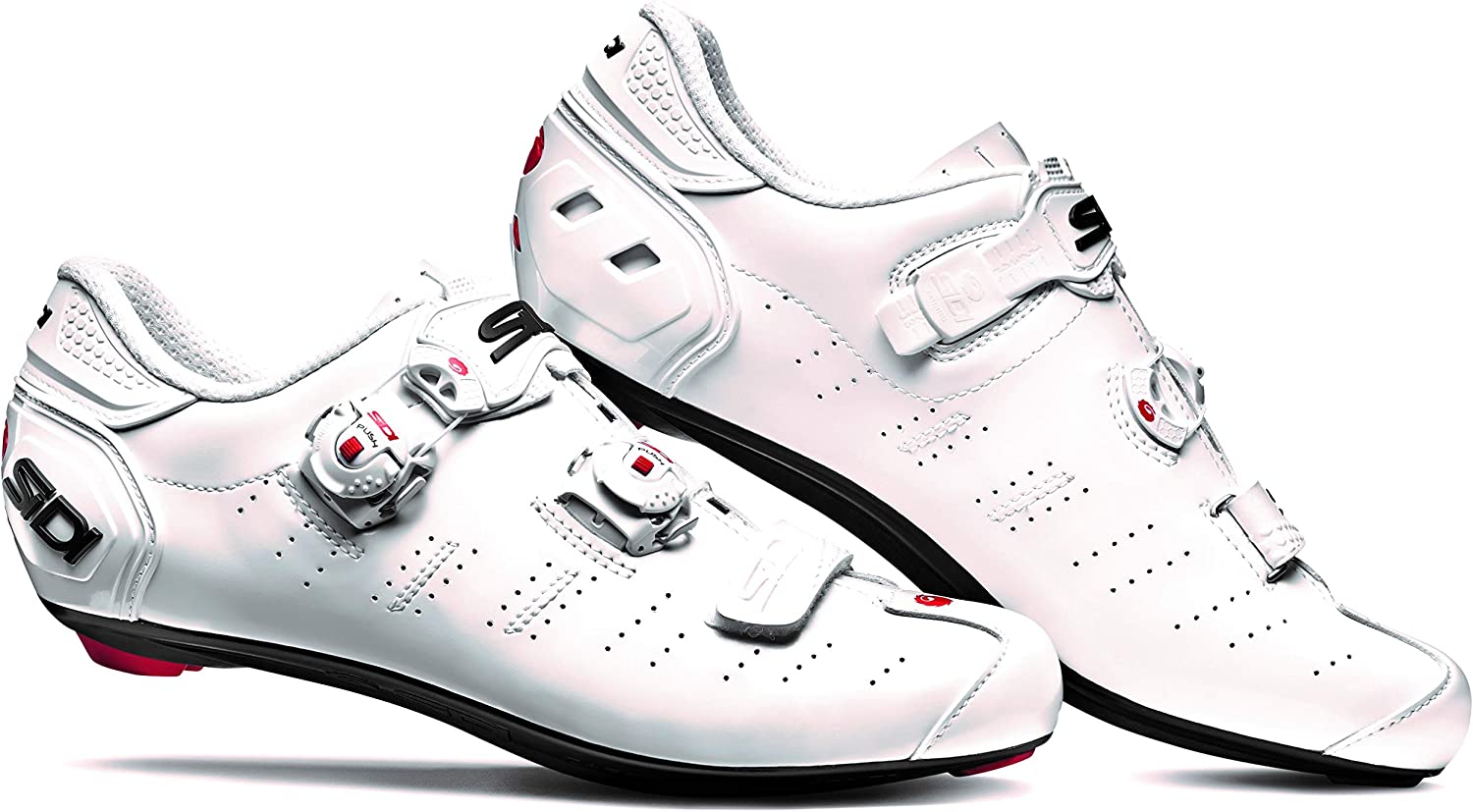 Ergo 5 Carbon Road Cycling Shoes 44.5, White//White