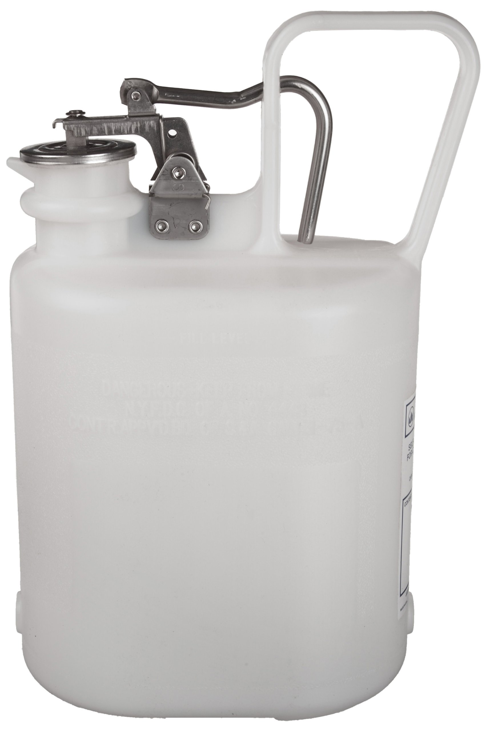 Justrite 12161 1 Gallon Capacity, 4 5/8'' x 7 5/8'' x 12 3/4'' (O.D x HT) Laboratory Cans For Corrosives