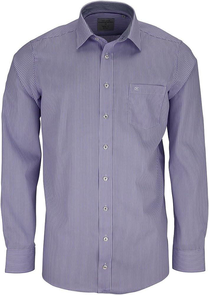 Casa Moda camisa para hombre (tamaño grande), color morado morado 52: Amazon.es: Ropa y accesorios