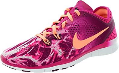 promo code quality available Nike WMNS Free 5.0 TR FIT 5 PRT Chaussures de Course Running Femme ...