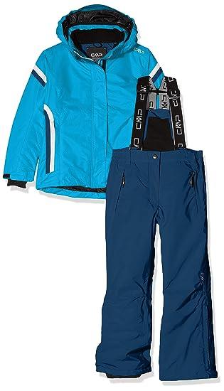CMP 38W0365_M713_98 Conjunto, Niñas, Azul (Blue Jewel), XS