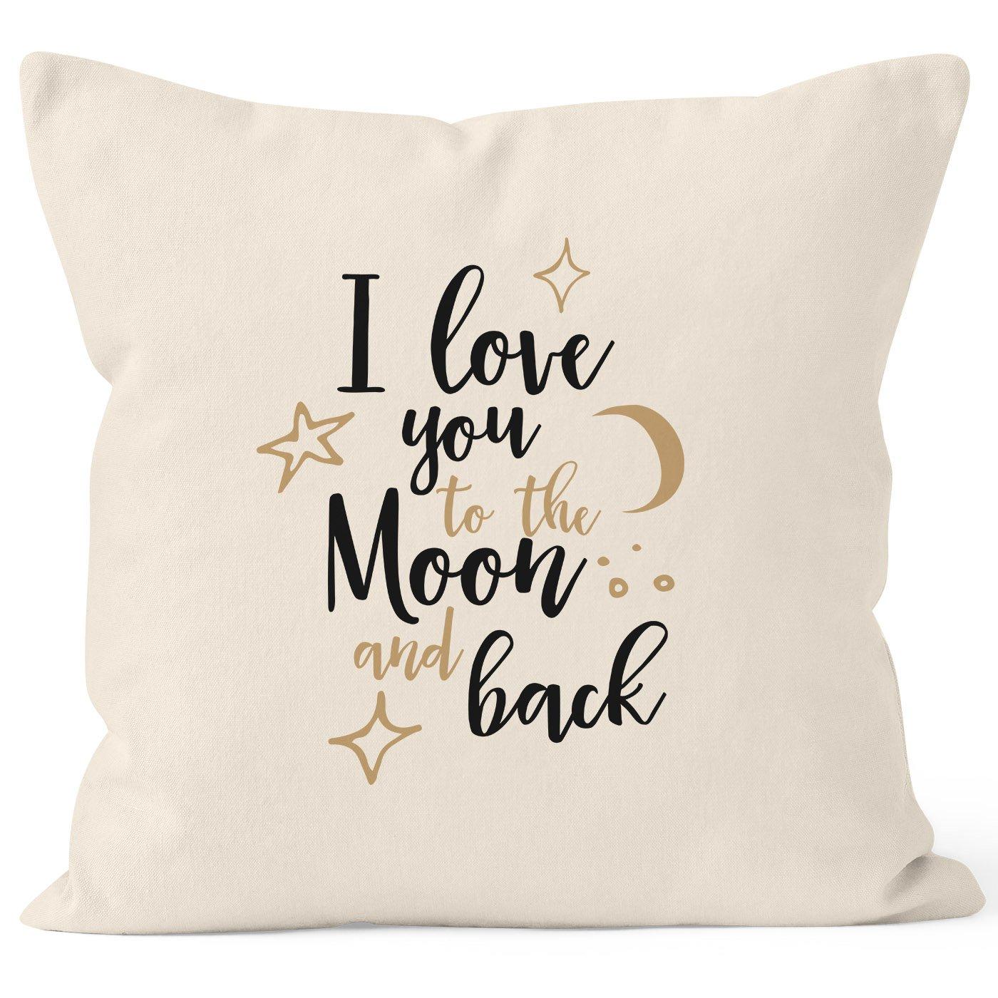 Funda de cojín - I Love You To The Moon and Back -Ideal como ...