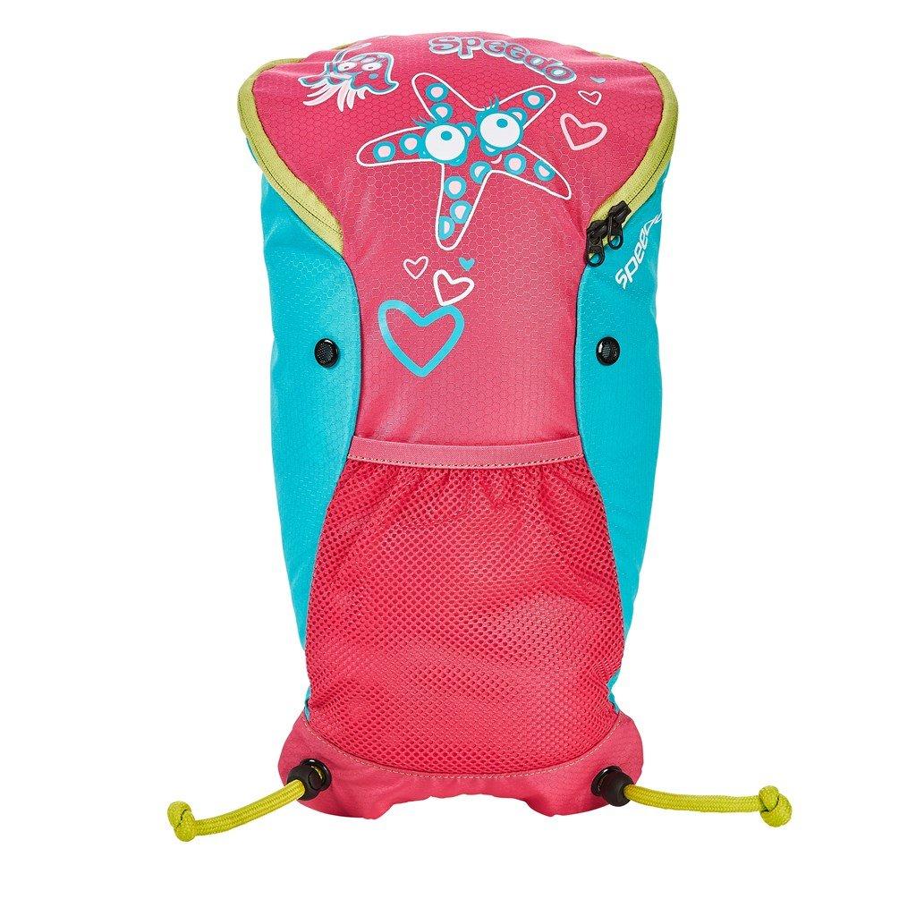 Speedo Sea Squad Backpack Mochila, Unisex bebé, Rosa Vegas/Azul Bali, One Size: Amazon.es: Deportes y aire libre