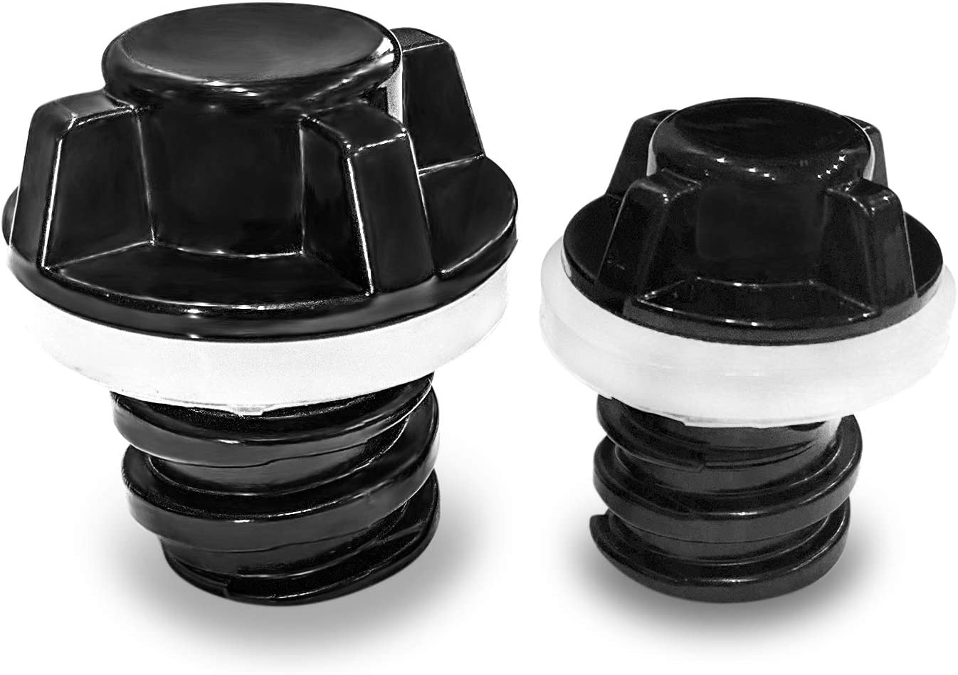 2x Drain Plugs Black Fit for RTIC Coolers Refrigerator Accessories