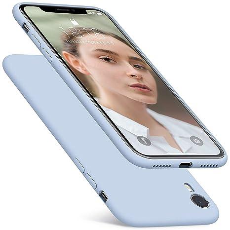 d6fad53244e Fuleadture Funda iPhone XR, [Compatible con Carga Inalámbrica] Original  Versión Mejorada Slim Líquido
