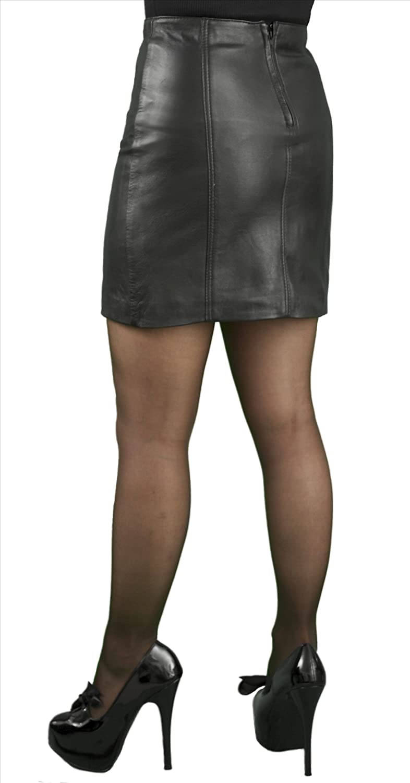 Tout Ensemble Leather Mini Skirt, 16