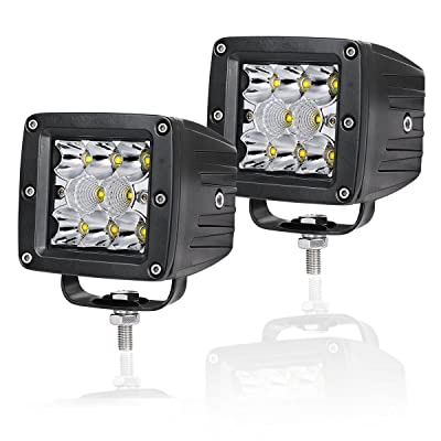 LED Cube Lights Swatow Industries 2PCS 80W Osram 3 Inch LED Pod Lights Off Road Spot Flood Combo Driving Lights Fog Lights Square Work Lights for Truck Offroad SUV ATV UTV Boat: Automotive
