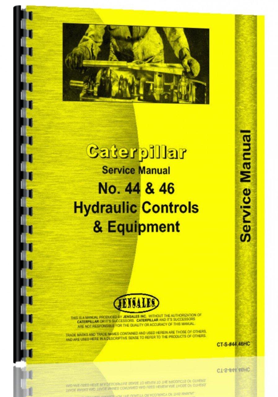 Caterpillar 44 46 Hydraulic Control Attachment Service Manual PDF