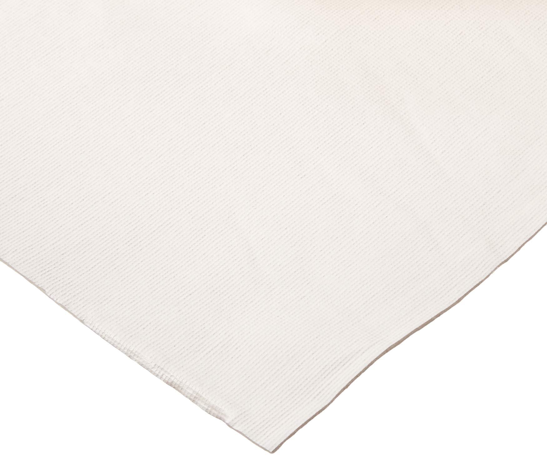 HomeCrate TPAD Wide Premium Cushioned Heavy Duty Vinyl Table Pad, 70'' X 120'', Cream