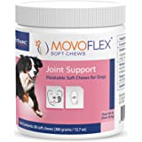 MOVOFLEX Dog Hip & Joint Support for Small, Medium, Large Dogs - Veterinarian Formulated - One Chew A Day Serving Size - Glut
