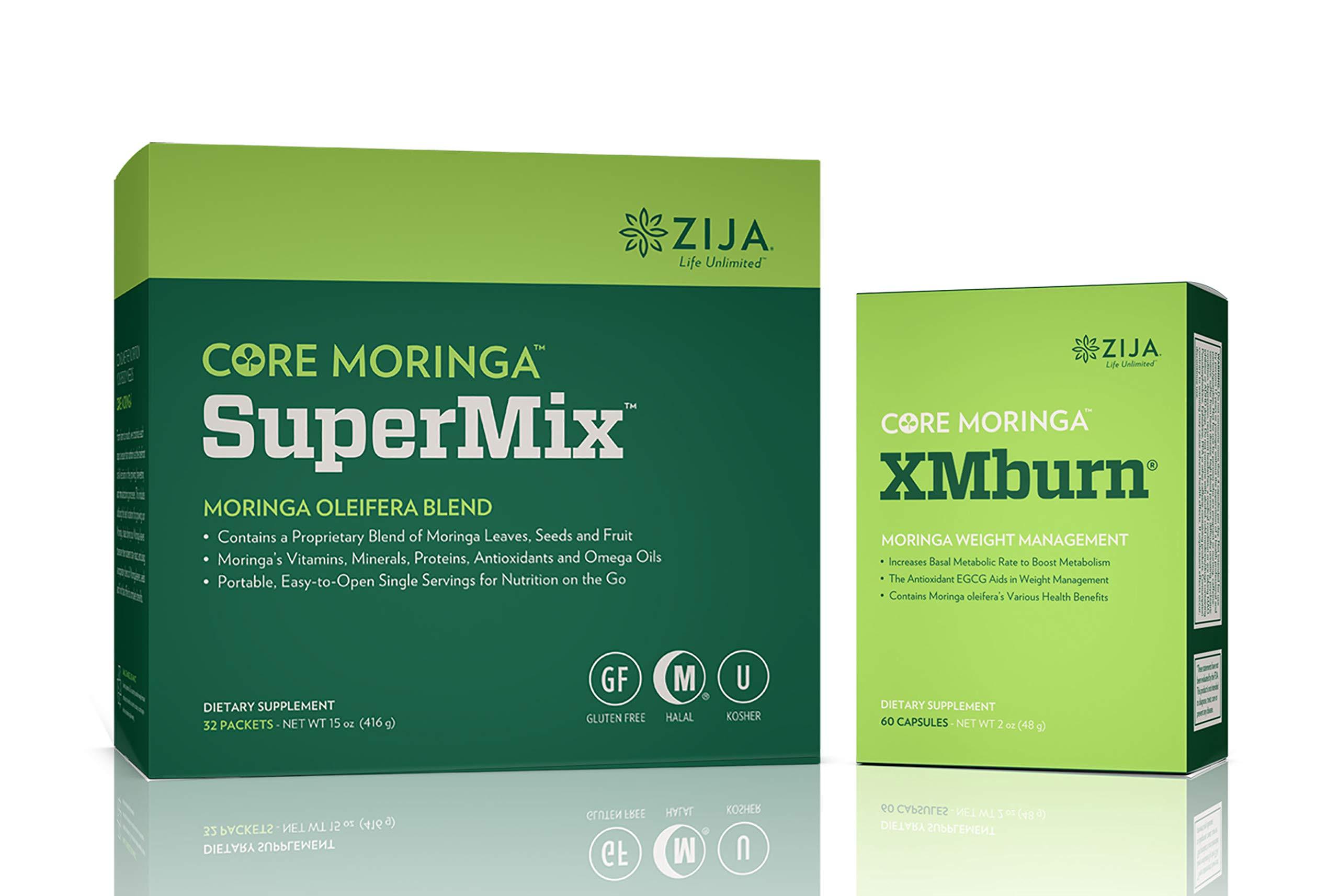 Zija Supermix Pure Moringa & XM Burn by Common Wellness Moringa (Image #1)