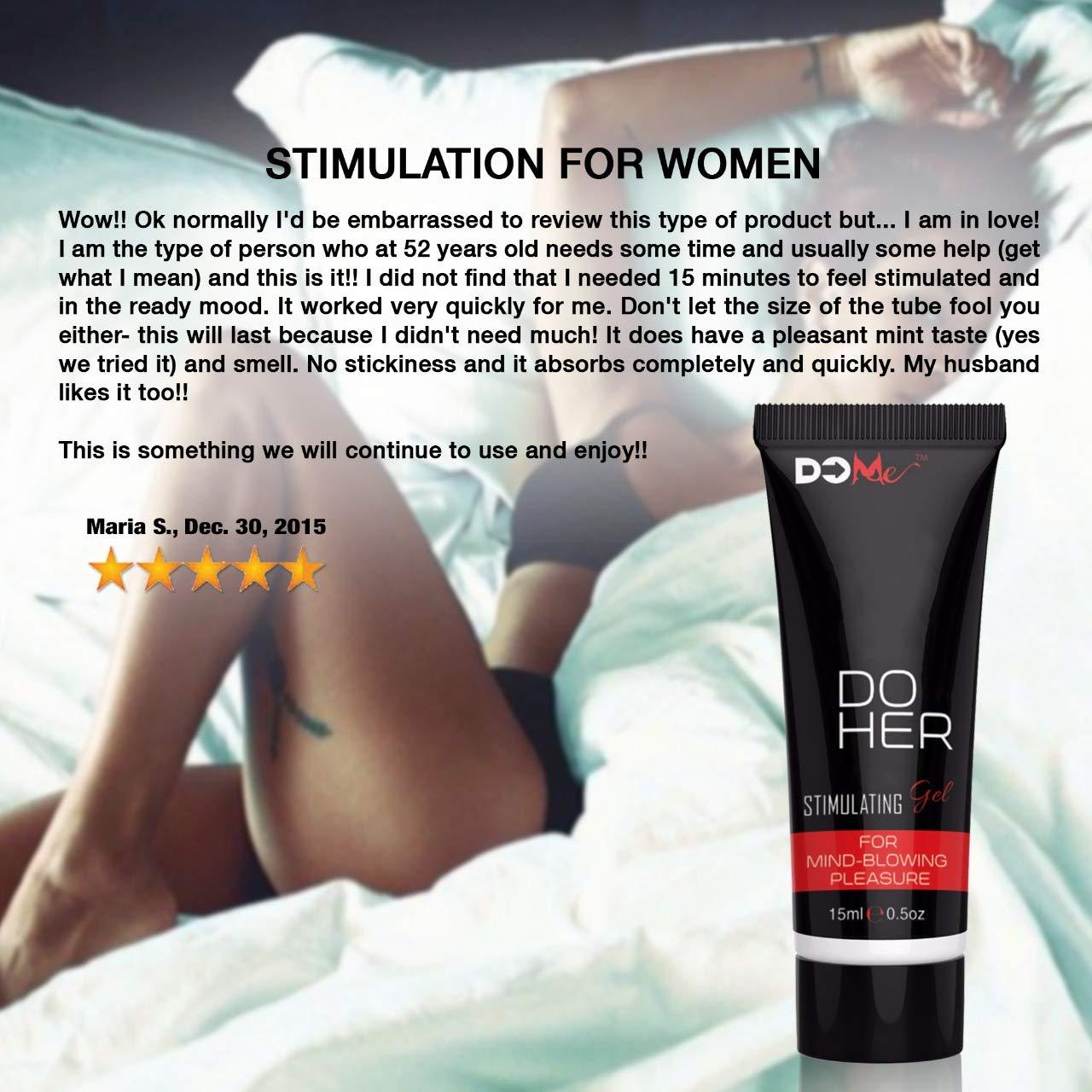 Gel Estimulante del Clítoris - Do Her - Estimulador para Ayuda Sexual y Natural Que Intensifica Los Orgasmos: Amazon.es: Salud y cuidado personal