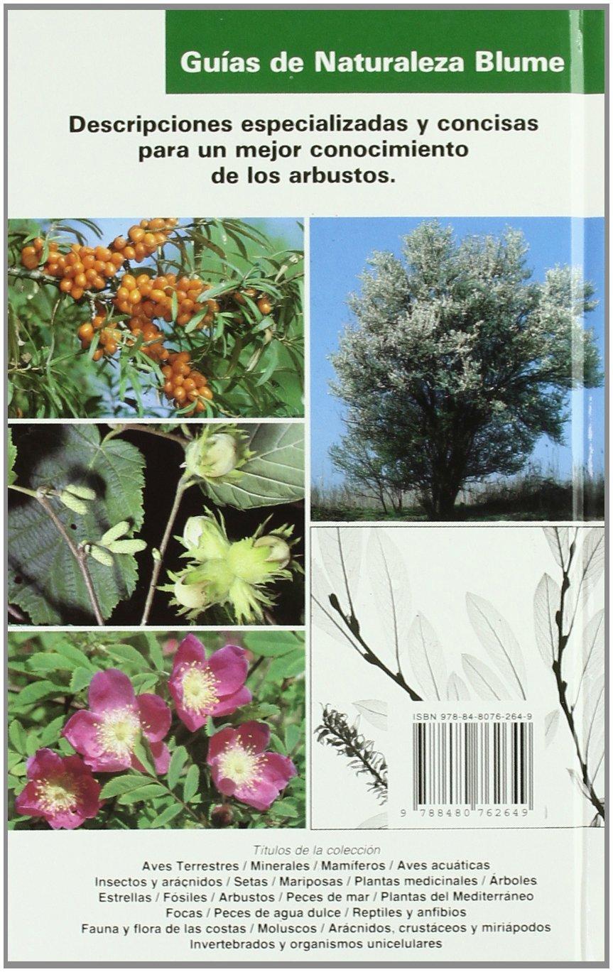 Gu¡a Naturaleza. Arbustos (Guías naturaleza Blume): Amazon.es: Aa.Vv.: Libros
