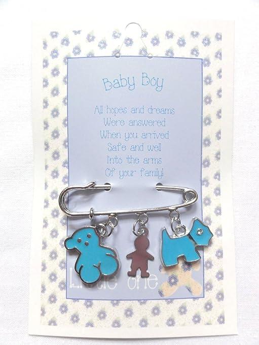 Lucky percha de pañales de bebé para pulsera diseño con carrito con estrellas de carga y
