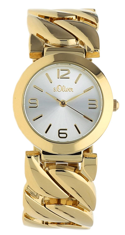Armbanduhr Quarz Gold So 15126 Ip Mqr Analog S oliver Damen BodCrxe