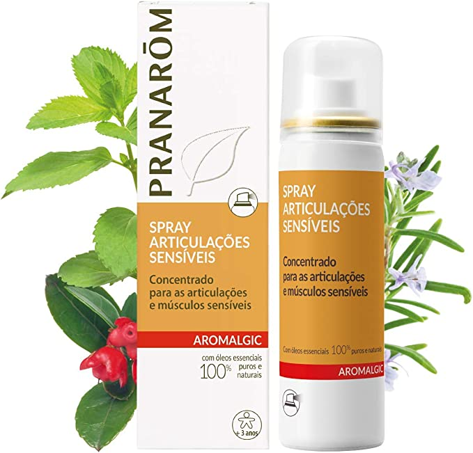 Aromalgic Spray 50 Ml Pranarom: Amazon.es: Salud y cuidado personal