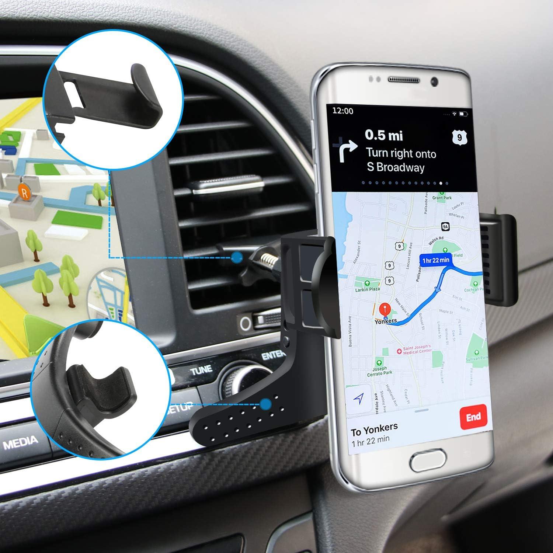 J2 Pure Car Air Vent Mobile Cell Phone Holder Mount On5 J3 Emerge J3 Luna Pro Core Prime for Straight Talk Samsung Galaxy J3 J2 J3 Orbit J3 Mission J3 Star
