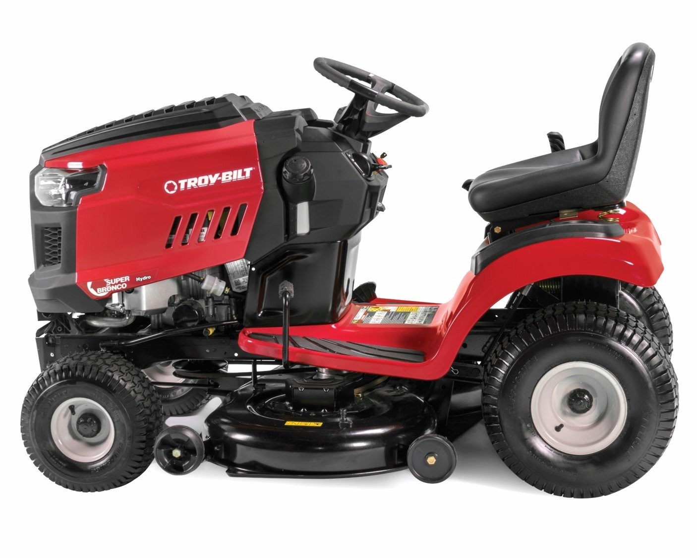 troy bilt bronco riding mower reviews