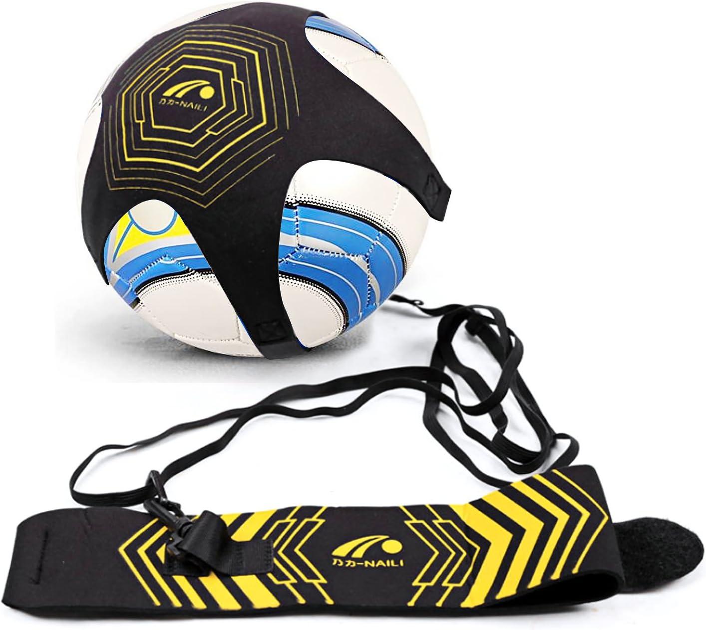 Football Star Kick Football Practice Training Aid Solo Soccer Trainer Returner