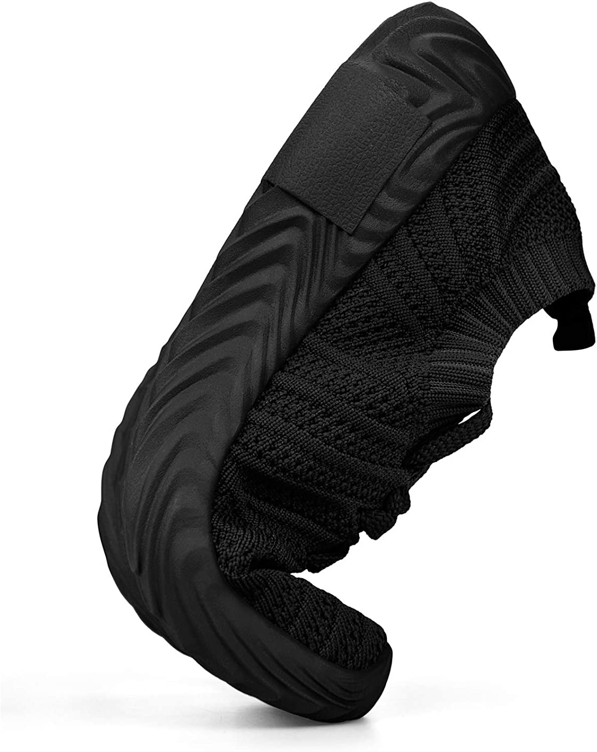 QANSI Boys Grils Sneakers Lightweight Athletic Sports Running Shoes Breathable Tennis Sports Shoes Black 6.5 Big Kid